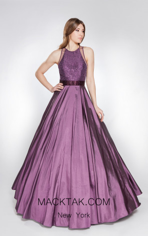X & M Couture 49044 Front Evening Dress