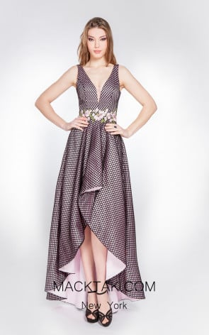 X & M Couture 49059 Front Evening Dress