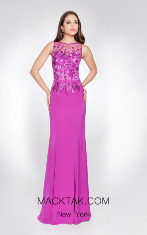 X & M Couture 49068 Front Evening Dress