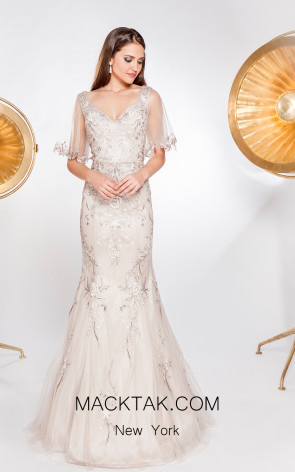 X & M Couture 49072 Front Evening Dress