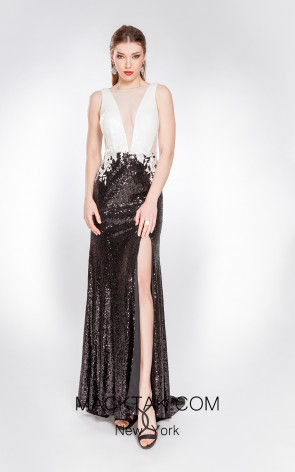 X & M Couture 49079 Front Evening Dress