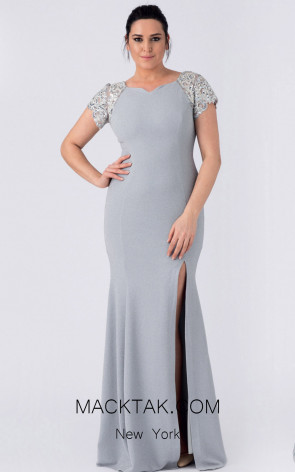 Alchera Y8281 Front Evening Dress