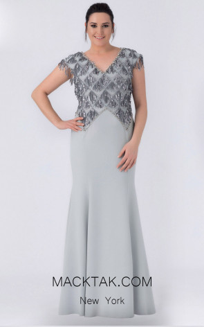 Alchera Y8310 Front Evening Dress