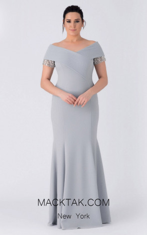Alchera Y8320 Front Evening Dress
