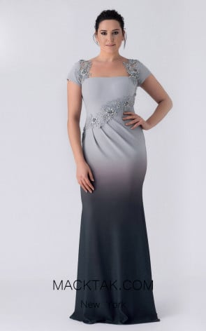 Alchera Y8332 Front Evening Dress