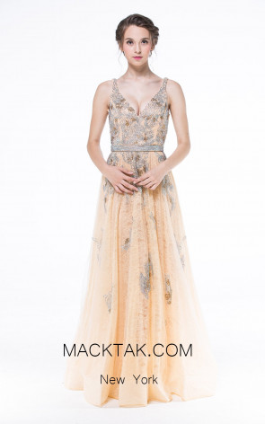 Sequin Ball Gown Dress by Zorani New York 234461 Front Dress