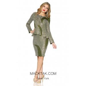 KNY 4885 Knit Suit Made in USA
