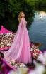 Tarik Ediz 50617 Pink Back Dress