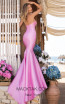 Tarik Ediz 50618 Pink Back Dress