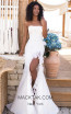 Tarik Ediz 50618 Ivory Front Dress