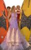 Tarik Ediz 50627 Lilac Front Dress