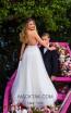 Tarik Ediz 50659 Ivory Back Dress