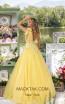 Tarik Ediz 93927 Yellow Back Dress