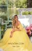 Tarik Ediz 93927 Yellow Front Dress