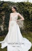 Ange Etoiles Aurora Ivory Front Bridal Dress
