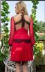 Cristallini SKA1036 Back Dress
