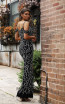 Jadore JX3005 Black Back Dress