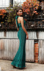 Jadore JX3014 Green Back Dress