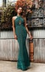 Jadore JX3014 Green Front Dress