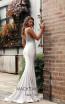 Jadore JX3027 Silver Back Dress