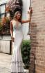 Jadore JX3027 Silver Front Dress