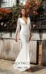 Jadore JX3041 Ivory Ivory Front Dress