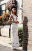 Jadore Australia JX3057 Ivory Front Dress