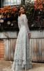 Jadore Australia JX3059 Silver Back Dress