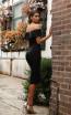 Jadore Australia JX3063 Black Back Dress