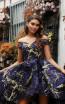 Jadore Australia JX3066 Midnight Front Dress