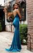 Jadore Australia JX3074 Teal Back Dress