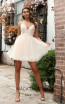 Jadore Australia JX3077 Champagne Front Dress