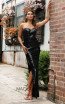 Jadore Australia JX3080 Black Front Dress