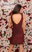 Jessica Angel 117 Red Black Back Dress