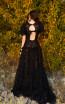 Miau By Clara Rotescu Anaisha Black Back Dress
