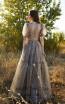 Miau By Clara Rotescu Ishani Olive Front Dress