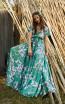 Miau By Clara Rotescu May Green Front Dress