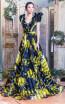 Missaki Couture MC3518 Print Dress