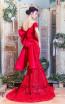Missaki Couture MC3520 Red Back