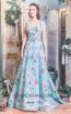Missaki Couture MC3488 Aqua Front