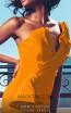MNM Couture 2425A Mango Front2 Dress