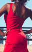 MNM Couture 2425A Red Back2 Dress