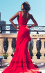 MNM Couture 2425A Red Back Dress