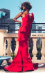 MNM Couture 2425A Red Front Dress