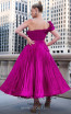 MNM Couture 2565 Fuchsia Back Dress