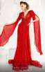 MNM Couture 2569 Red Front2 Dress