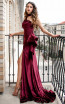 MNM Couture L0038 Side Front Dress
