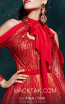 MNM 2492 Red Front Evening Dress