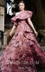 MNM N0307 Pink Front Evening Dress