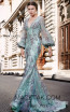 MNM N0309 Mint Front Evening Dress